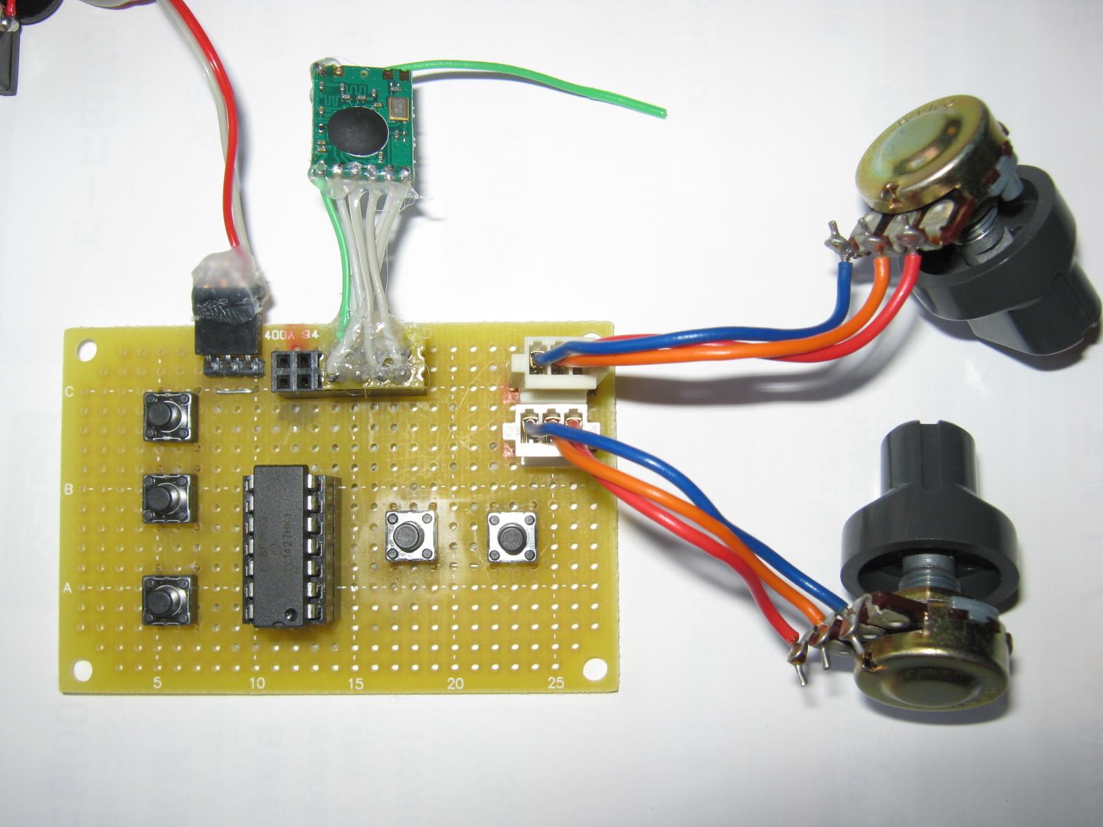 2.4GHzラジコン用ファームウェア製作(CC2500)送信側
