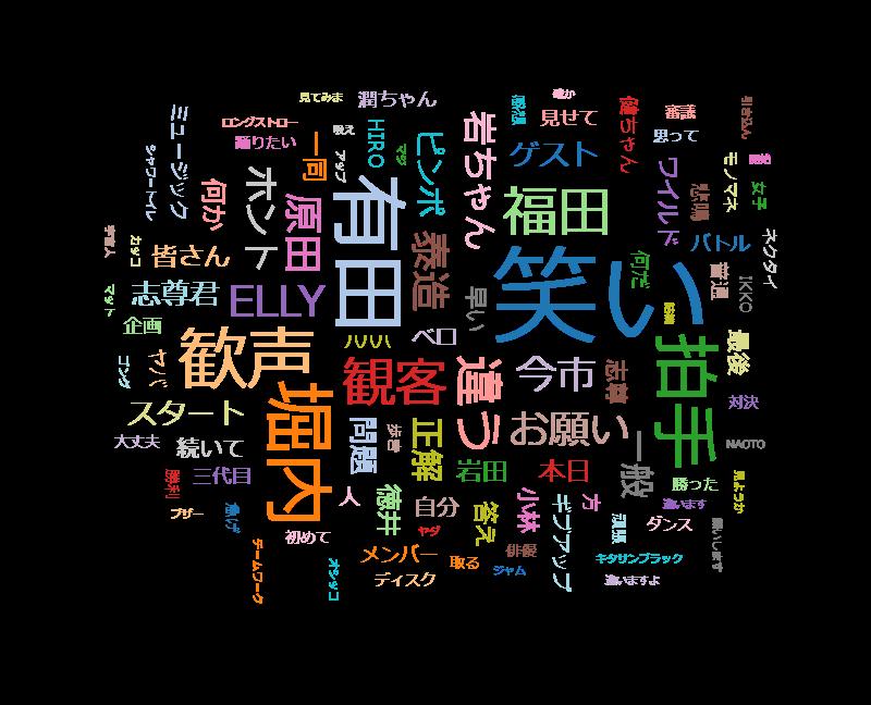 しゃべくり007 最強ダンス軍団三代目JSBと超絶ダンスバトル!