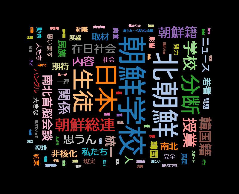 """クローズアップ現代+「日本の中の""""38度線""""米朝見つめる在日社会 密着2か月」"""