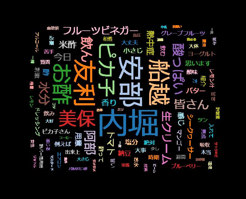 ごごナマ「夏を酢カッと!酢ーパー活用術」