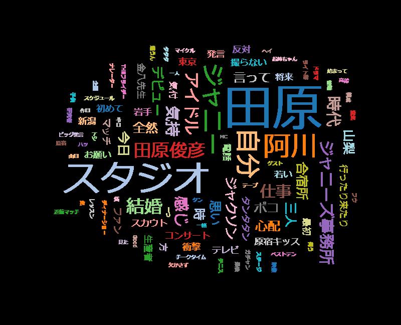 サワコの朝【田原俊彦 57歳今も全力で踊る】