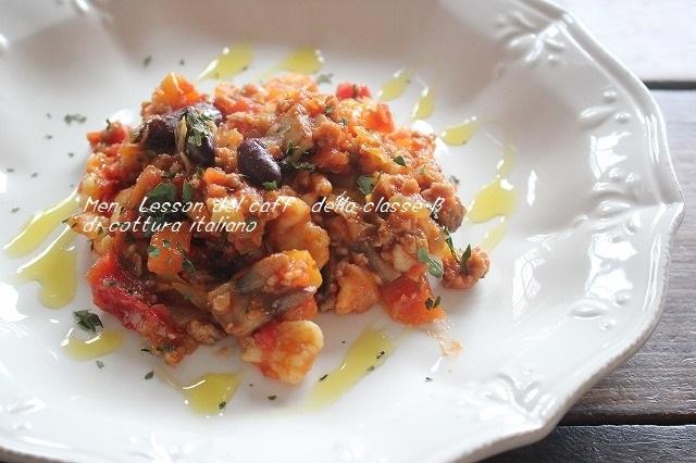 野菜とフラスカレッリのリポリータ (3)