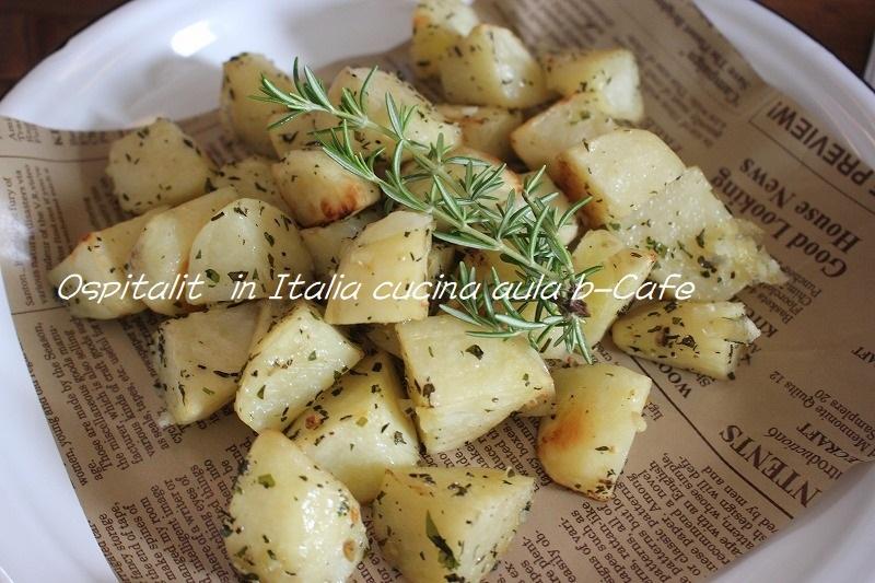 ジャガイモのハーブオーブン焼き (1)