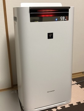 新しい空気清浄機