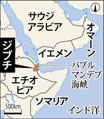 マンデブ海峡 地図