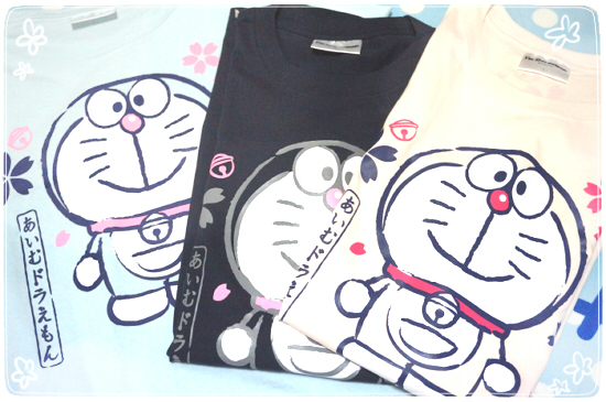 20180505あいむどらえもんTシャツ-全種
