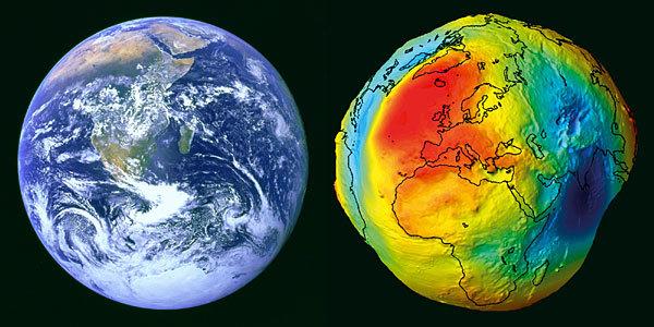 地球の本当の姿形