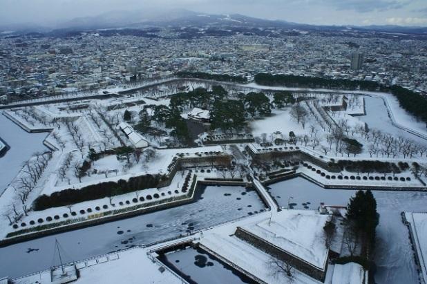 20180529_雪の五稜郭