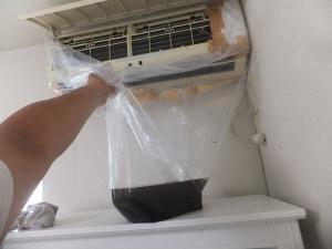 エアコン清掃1F