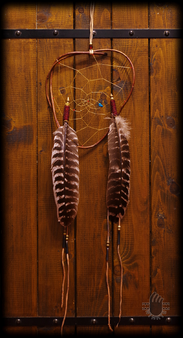 Beaded Feathers Dream Catcher 01