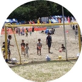 8ビーチちびっ子サッカー