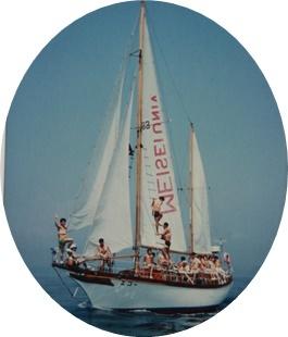4-① エコー号に乗船
