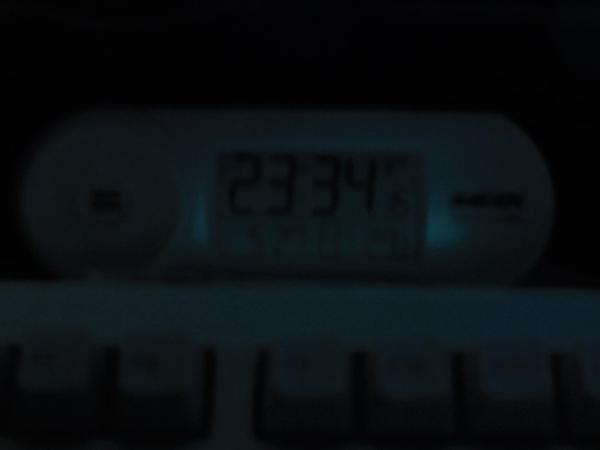 2018年5月27日電波時計