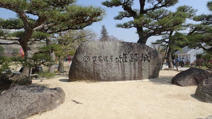 姫路城と桜 (1)