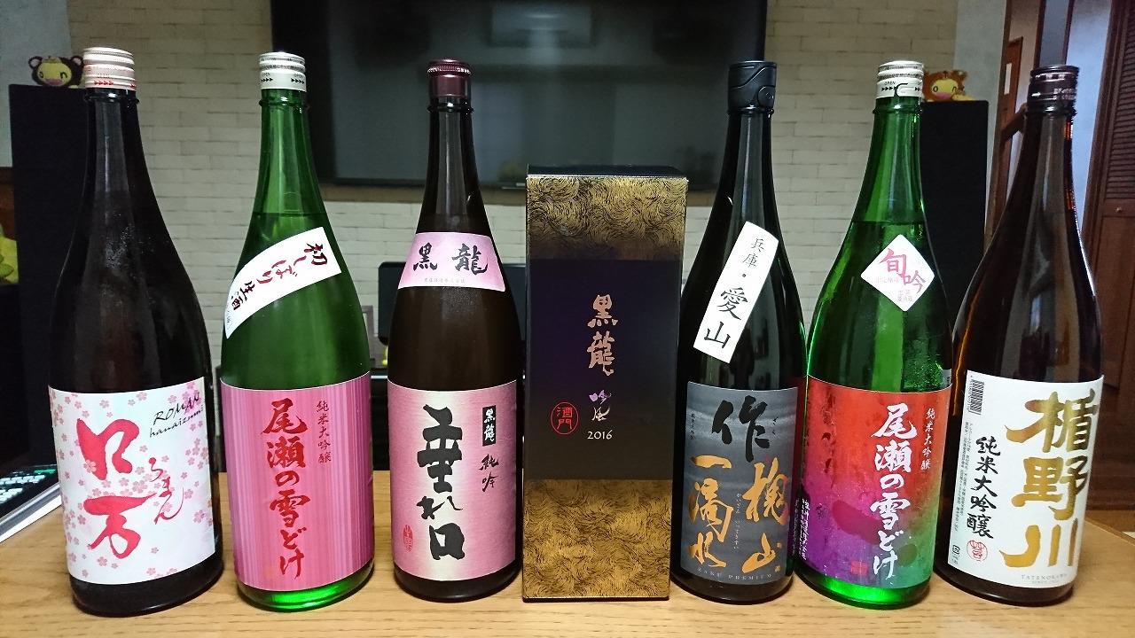 日本酒と高級魚と最近のゴルフ (2018年4月)