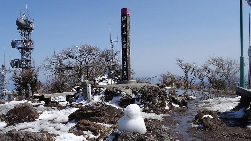 雪が積もってた別府ロープウェイ  (2018年3月)