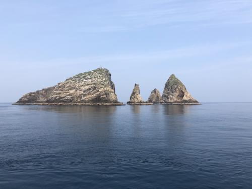 ベタ凪鷹島