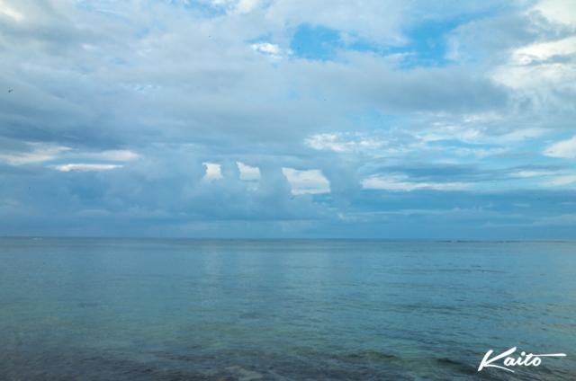 6月1日早朝の多田浜