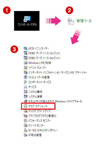 Windows10-タスクスケジューラで指定した時刻にexe起動0