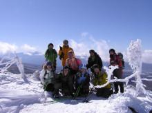 山の朝通信-茶臼山にて