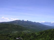 山の朝通信-山頂からの展望