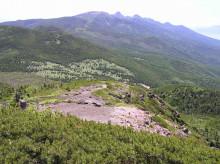 山の朝通信-北横岳山頂より南八ヶ岳