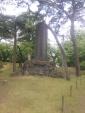千秋公園三吉霊神碑