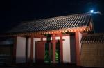 秋田城復元門