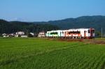 由利高原鉄道 西滝沢駅付近 (秋田県由利本荘市 2013年撮影)
