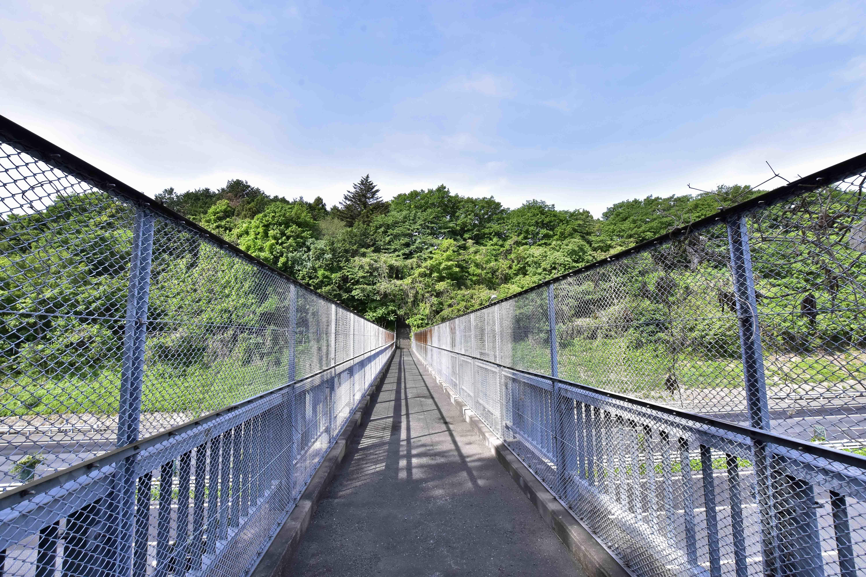 愛宕橋から見た越畑城