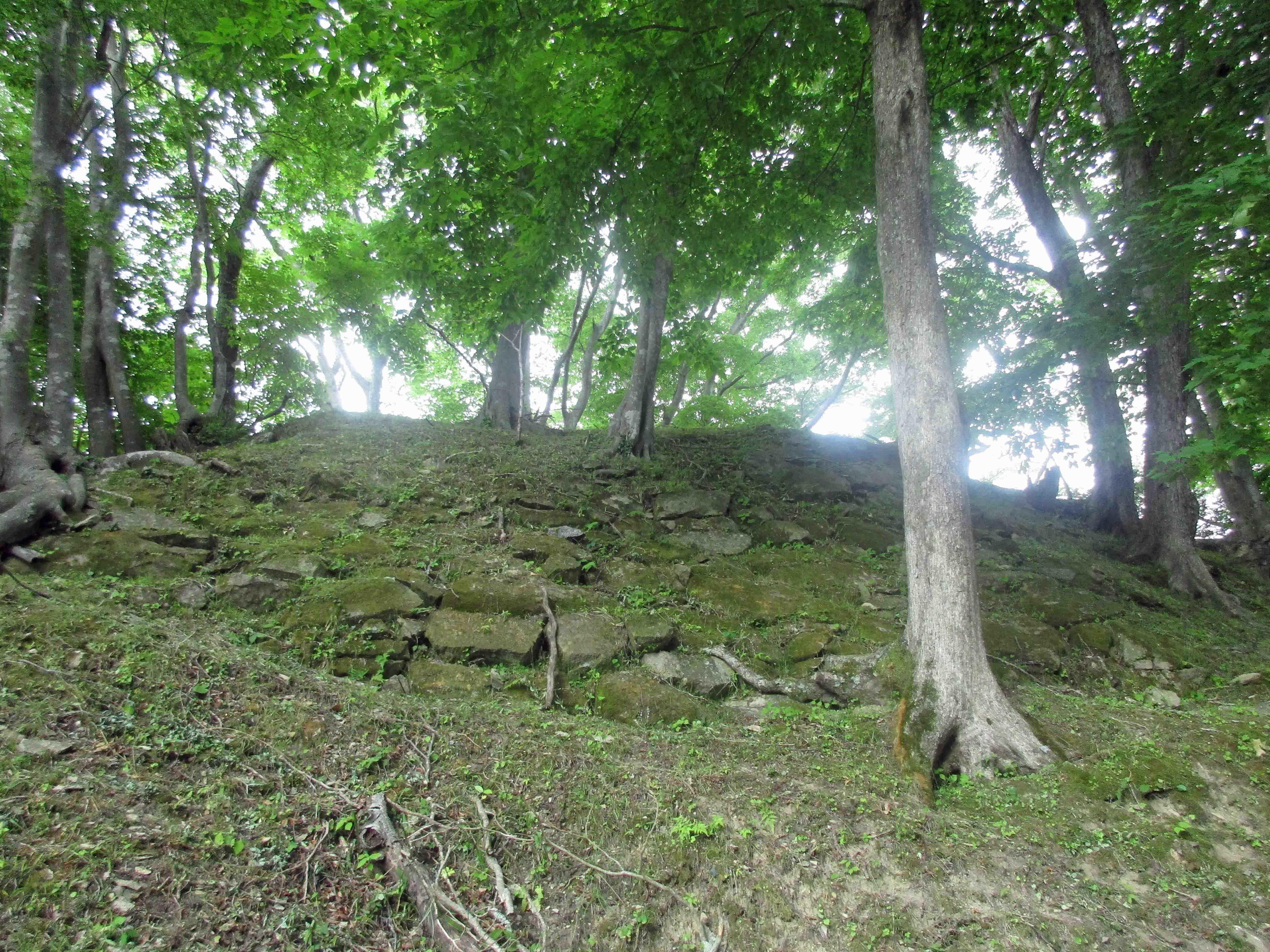 三春城 石垣