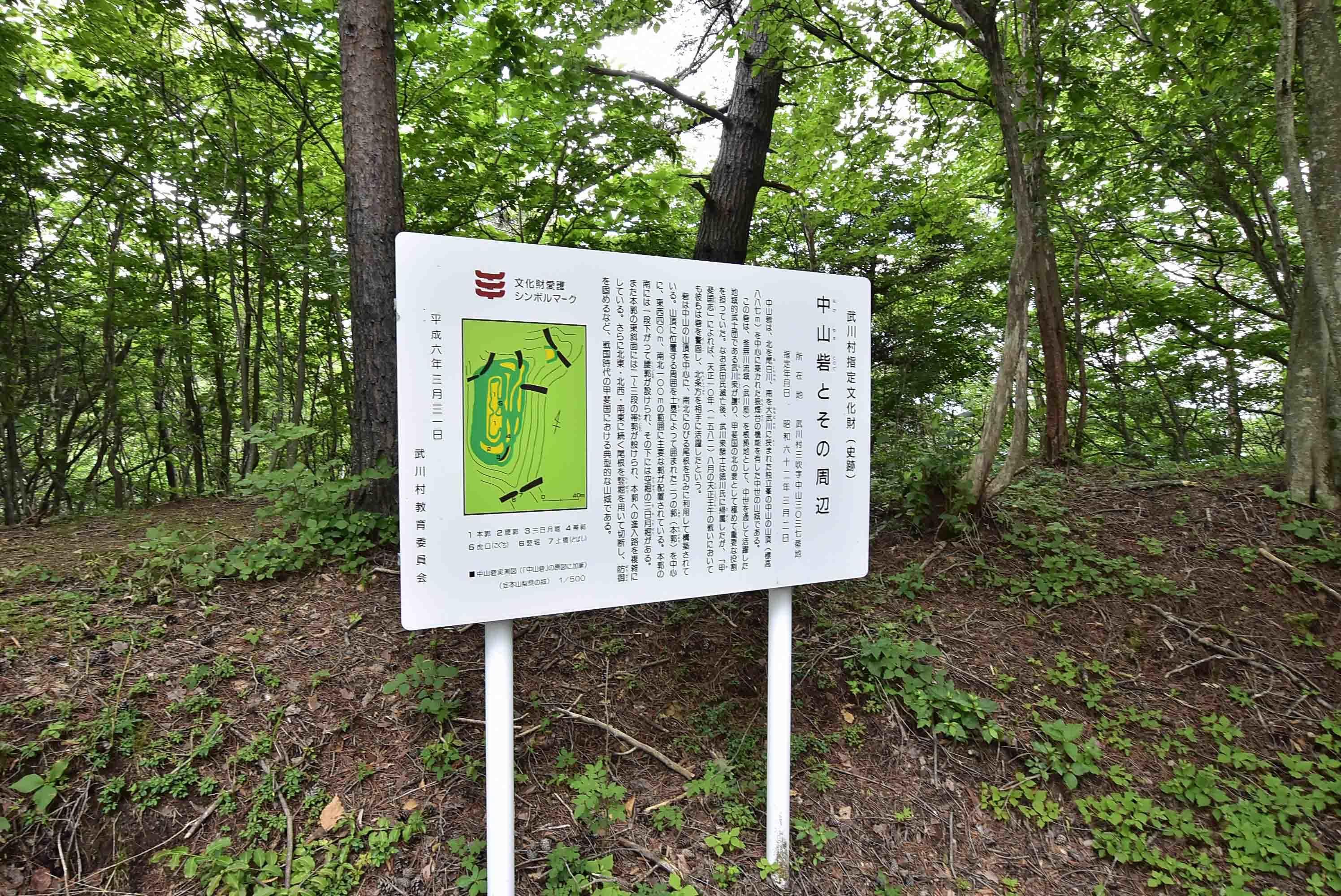 _DSC3845中山砦説明板