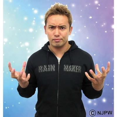 新日本プロレス オカダ・カズチカ「RAINMAKER DOLLAR」パーカー|Yahoo!ショッピング