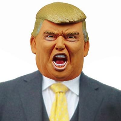 コスプレ衣装専門店マジックナイト - Mr.トランプ マスク 有名人 政治家 かぶりもの|Yahoo!ショッピング