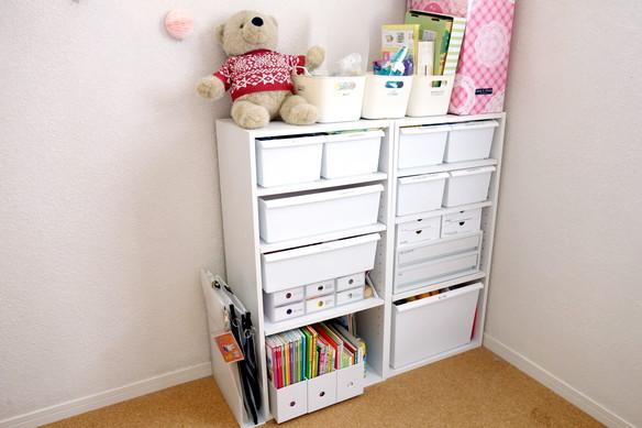 子供部屋・おもちゃ収納①