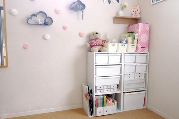 子供部屋・おもちゃ収納②