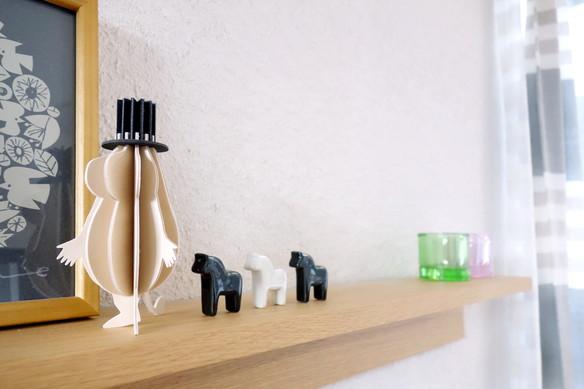 IKEA・SNABBAKAT 箸置き, ブラック, ホワイト③