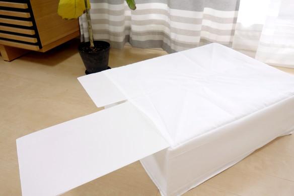 IKEA・SKUBB 収納ケース, ホワイト 44x55x19cm④