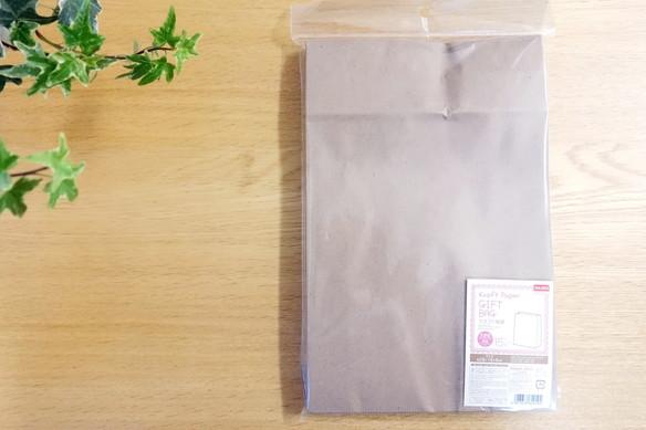 ダイソー・クラフト紙袋①