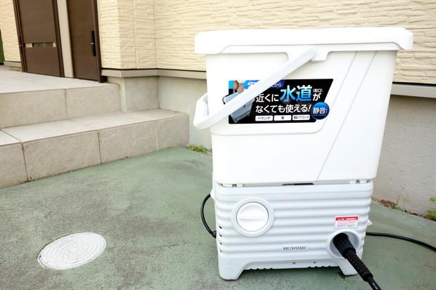 アイリスオーヤマ・高圧洗浄機②