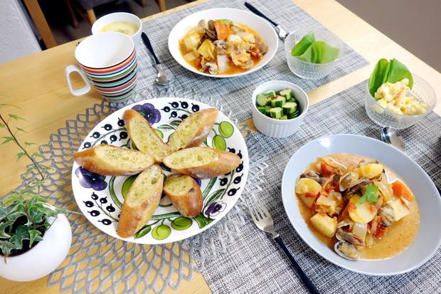 イッタラ・ティーマプレート 21cm・料理①