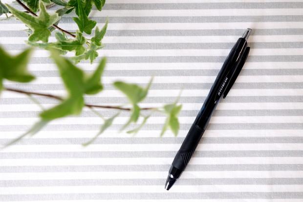 三菱鉛筆 油性ボールペン ジェットストリーム 0.7mm 黒①