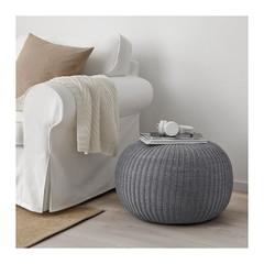 IKEA・SANDARED プーフ, グレー ①