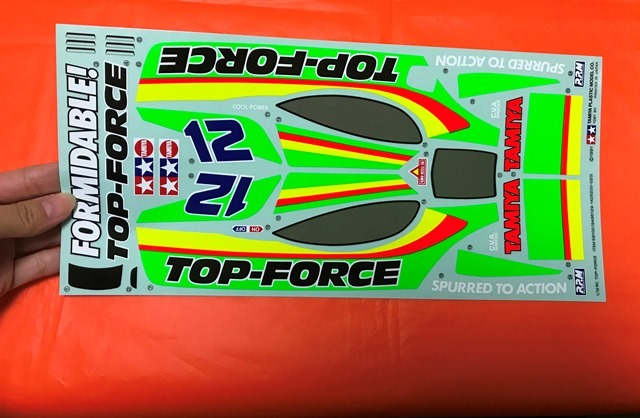 RC TOP-FORCE94