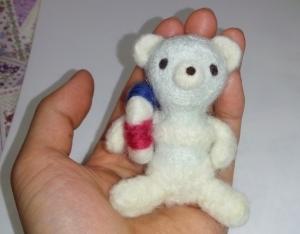 羊毛クマ23