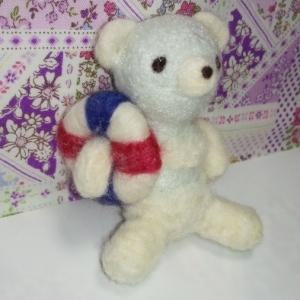 羊毛クマ26