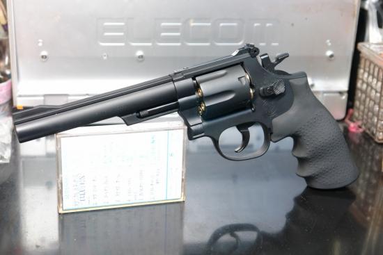 クラウンモデル S&W M19(6インチモデル) .44マグナムより若干軽快