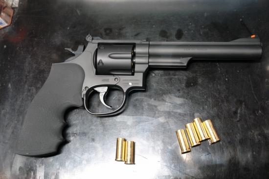 クラウンモデル S&W M19(6インチモデル)⑥ 渋いマットブラック仕上げ