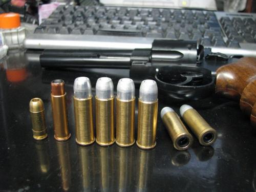 .44マグナム弾③ まるで「砲弾」