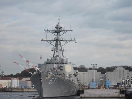 米軍イージス艦ステザム